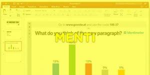 Realiza una presentación interactiva con Mentimeter y Power Point