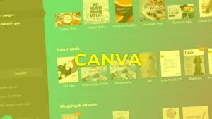 ▷ CANVA una plataforma para hacer  presentaciones profesionales en educación
